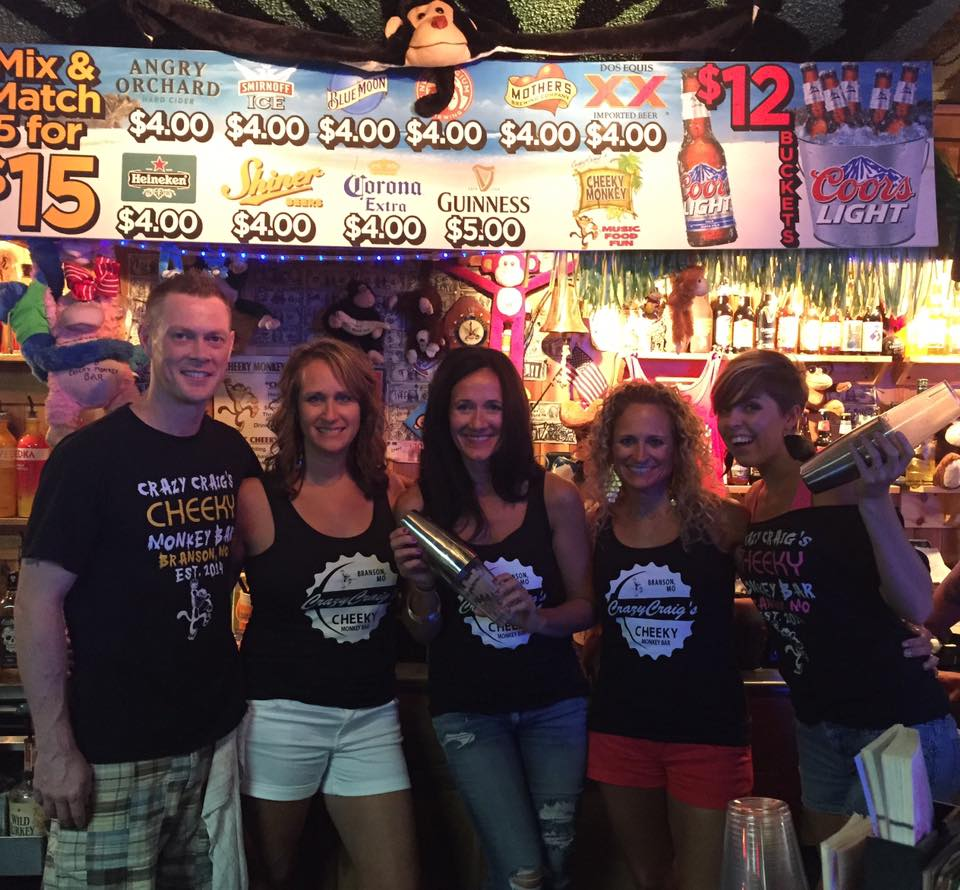 Cheeky Monkey Bar takes Branson Missouri by Surprise!